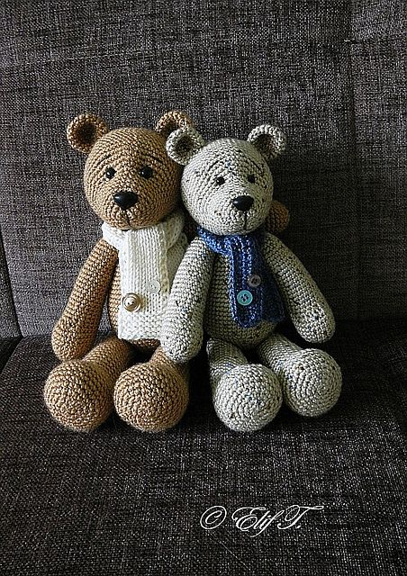 Cute teddy pattern
