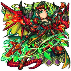 Valkyrie of the Jade Flame | Monster Strike GamePress