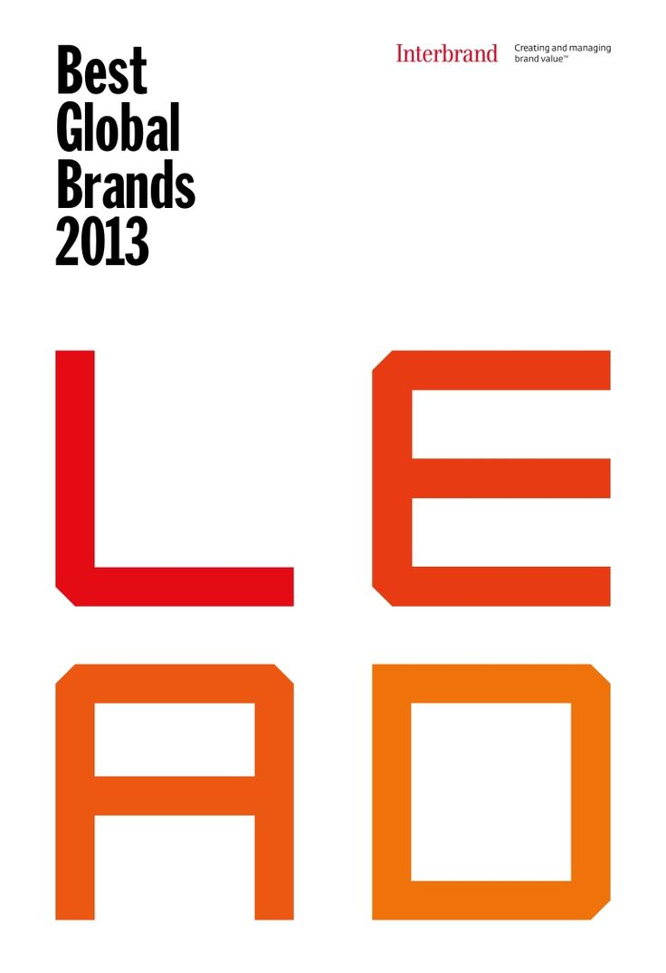 ouml ver bilder om brand strategy p aring utv auml rdering interbrand best global brands 2013 report