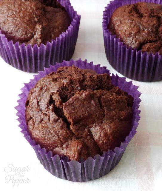 Cupcakes de Chocolate sin Azúcar