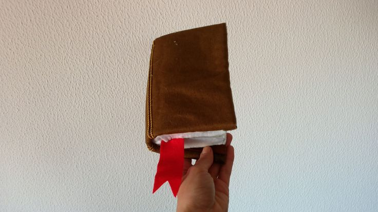 Sponge book made for a puppet theatre