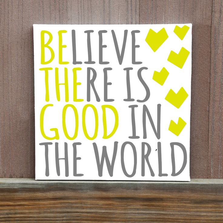 Be The Good You See In The World Hand Painted Canvas, Canvas Quote, Inspirational Quote, Ready to Hang, Inspiration, Wall Art, Home Decor by LittleDoodleDesign on Etsy