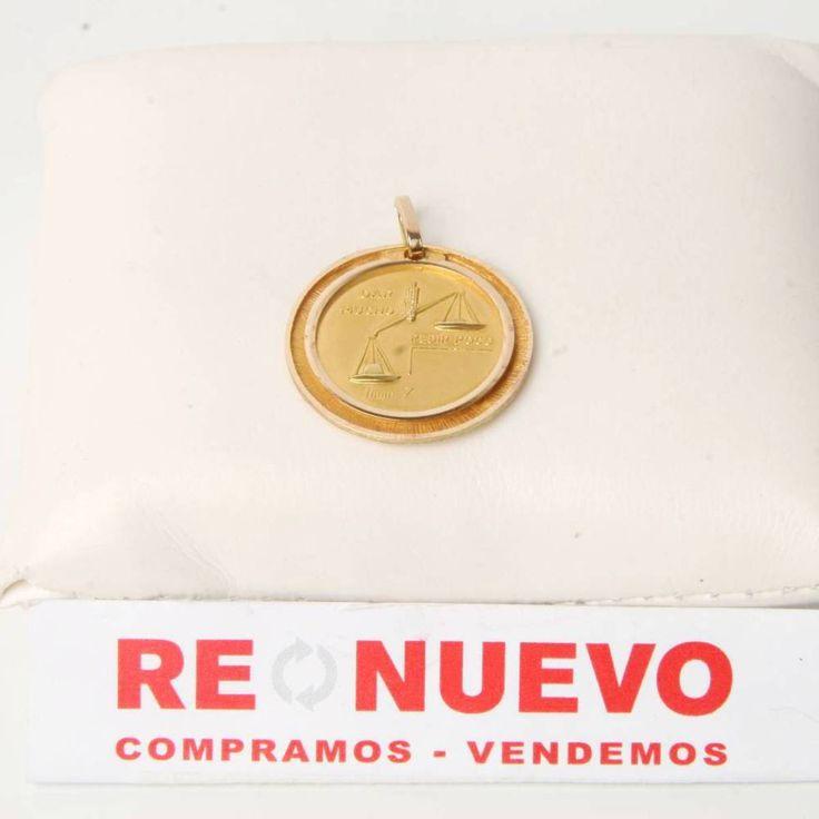 Medalla de la madre de oro de segunda mano E274459A | Tienda online de segunda mano en Barcelona Re-Nuevo
