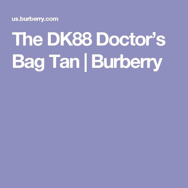 The DK88 Doctor's Bag Tan   Burberry
