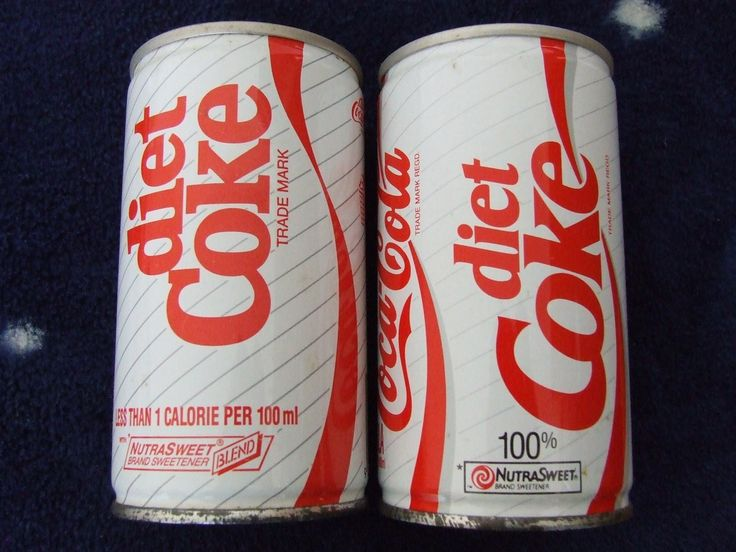 New Zealand 1980's diet Coke cans. | Always Coca Cola ...