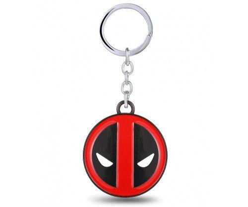 Deadpool fém kulcstartó - szuperhősös kulcstartó - képregényhősök kedvelőinek remek ajándék