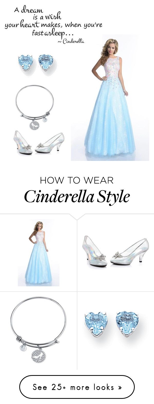 """Cinderella"" by getmetohogwarts on Polyvore featuring Envious Couture, Disney and Kevin Jewelers"