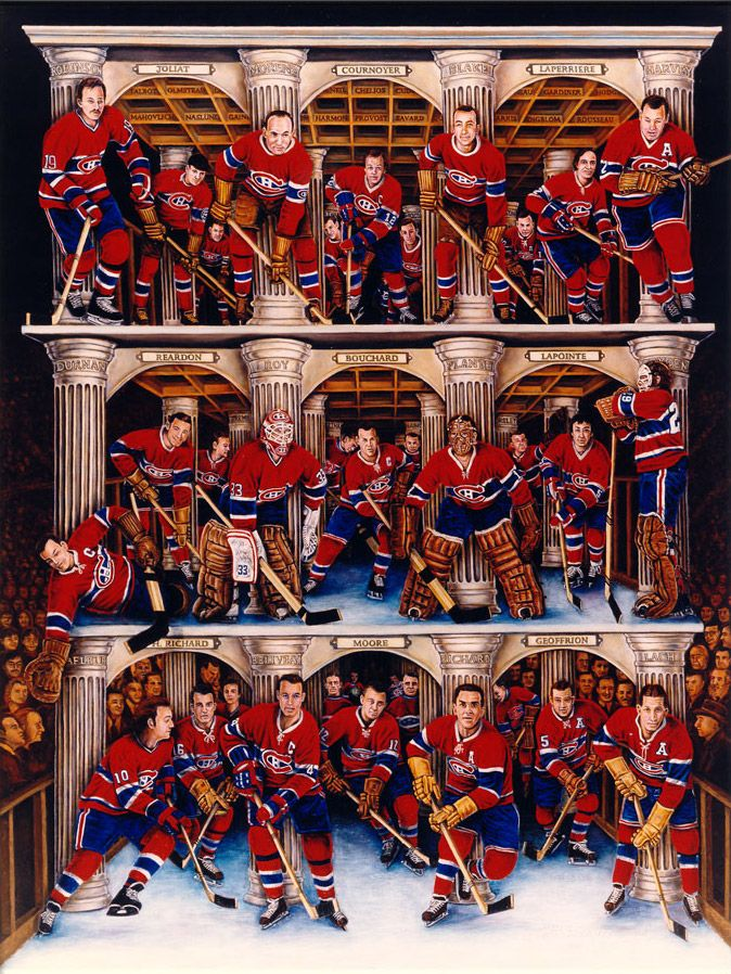 Montreal Canadiens amazing painting