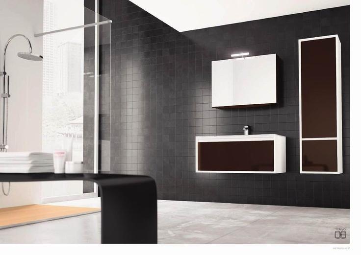 Moderní italský minimalismus v podání koupelnového nábytku BMT, více na: http://www.saloncardinal.com/bmt-d55
