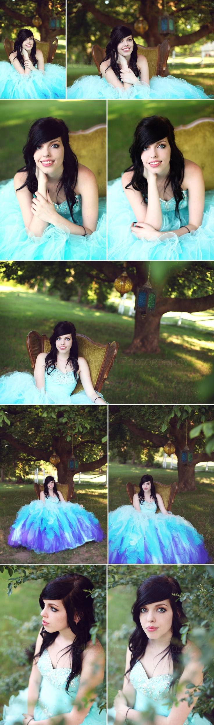 High School Senior girl prom dress Simple Splendor Photography