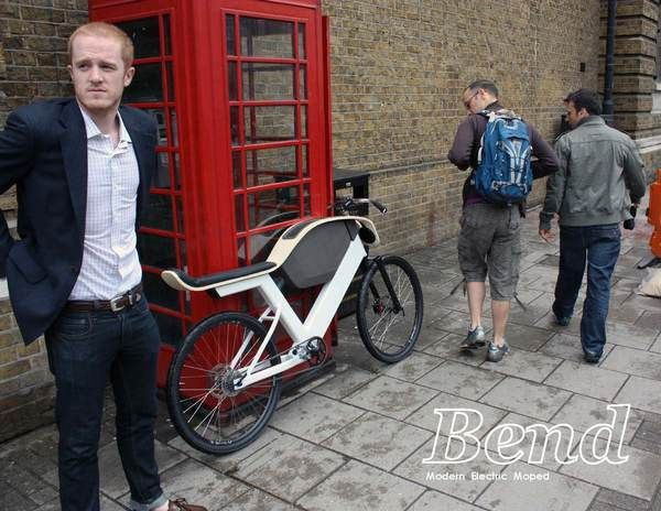 Bend: Electric Moped on Industrial Design Served