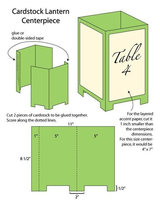 DIY Wedding Challenge: Paper Lantern Centerpieces - Project Wedding by mandy