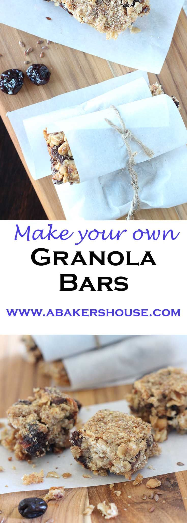 Make your own granola bars are the solution to snacking on the go. Filled with ingredients to help you refuel your energy when the tank is running low.
