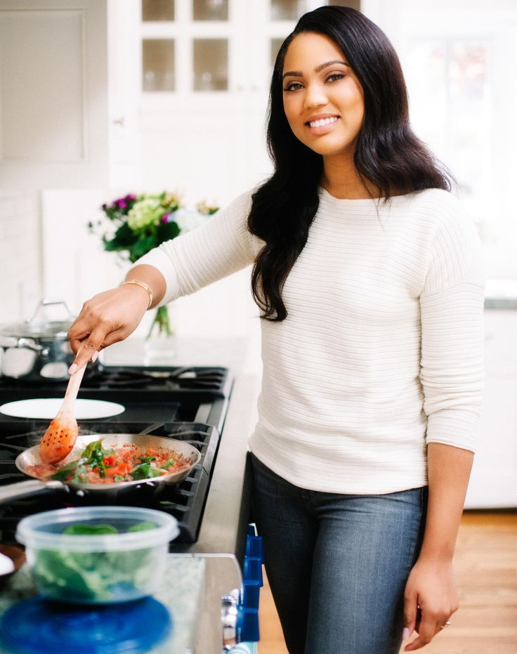 Ayesha Curry on Her New Food Network Show and What She's Making Steph After the NBA Playoffs from InStyle.com