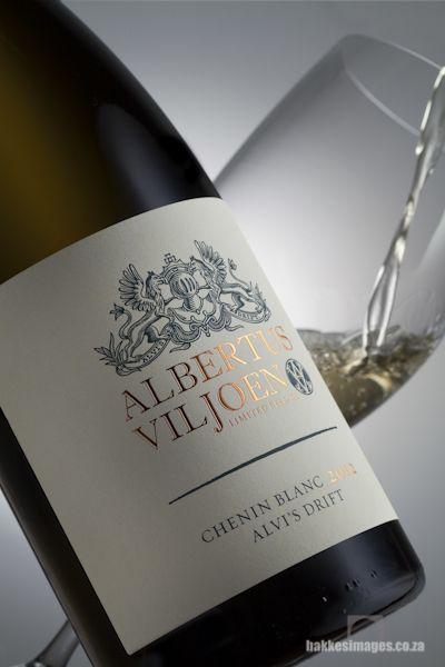 Wine Photography for Marketing & Advertising. Alvi's Drift Albertus Viljoen Chenin Blanc 2012. www.bakkesimages.co.za