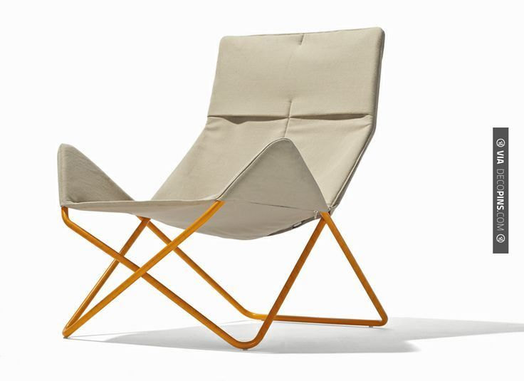 Sweet - in / out chair by richard lampert | Check out more ideas for chairs at DECOPINS.COM | #chairs #chair #masterbathrooms #bedroom #bedrooms #bathroom #bathrooms #homedecor #beds #interiordesign #home #homedecoration #design