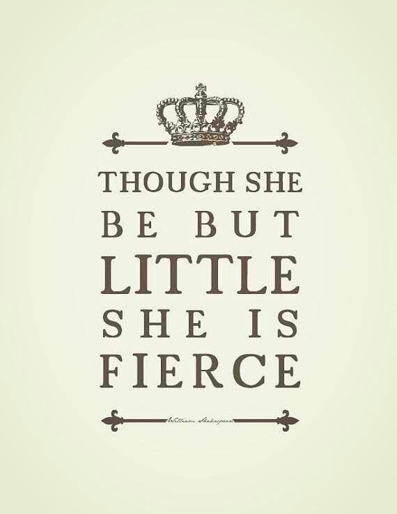 Fight like a girl.