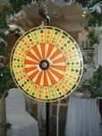 Crown & Anchor Wheel.   The Crown & Anchor Wheels come with 1 betting mat.  Additional mats rent for 1.00.  You have the choice of a wheel on a metal stand or a table top model.