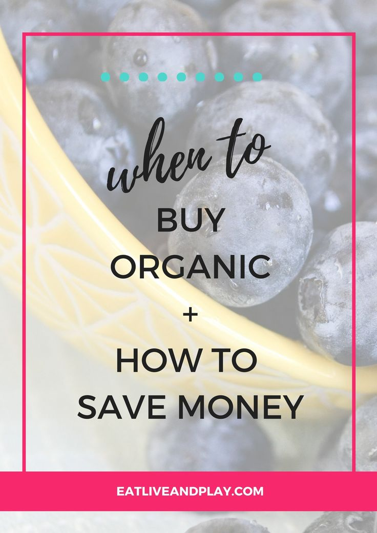 Confused about what to buy organic? Here are the foods that you should always buy organic without breaking the bank.