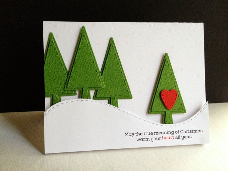 Stitched Trees and Hearts by Lisa Adessa using Simon Says Stamp Exclusives