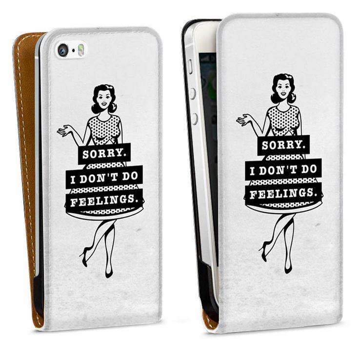 Pinup Girl für Downflip Tasche (weiße Lasche) für Apple iPhone 5 s von DeinDesign™