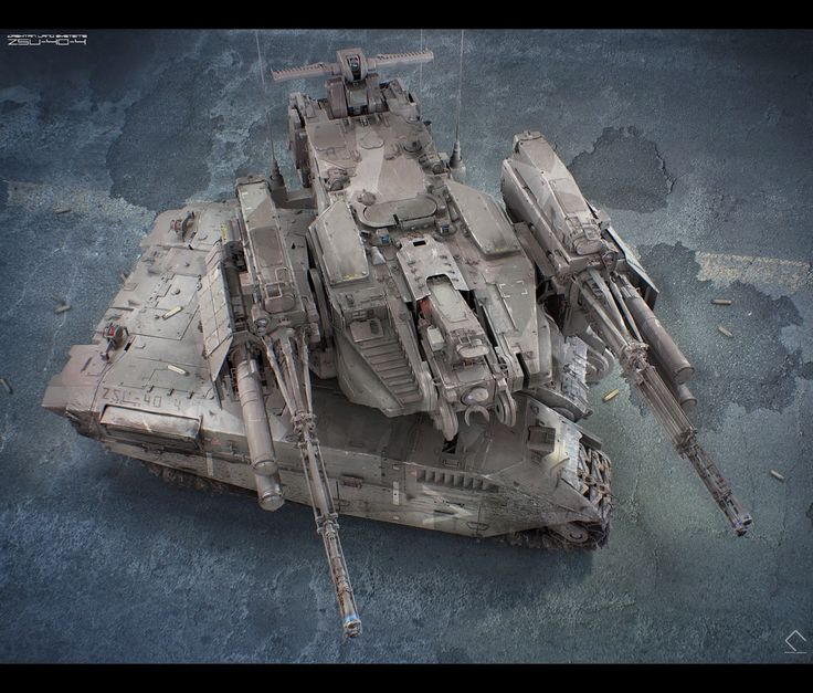 136 Best Images About Sci-Fi Tanks & Mecha On Pinterest