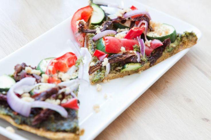 The Rawtarian: Raw almond pulp pizza crust recipe