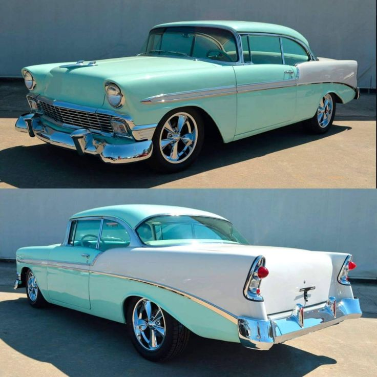 1956 Chevy……#ClassicCars..Re-pin Dropped at you by brokers of #carinsurance a…