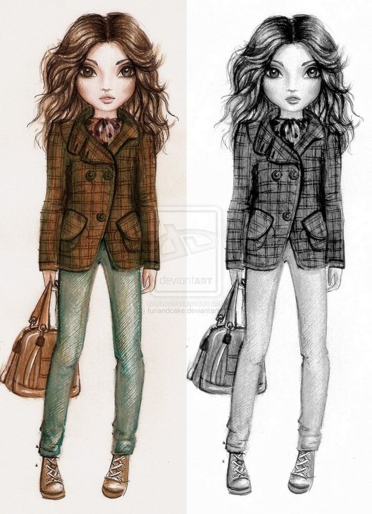 19 Best Images About Top Model Drawings On Pinterest