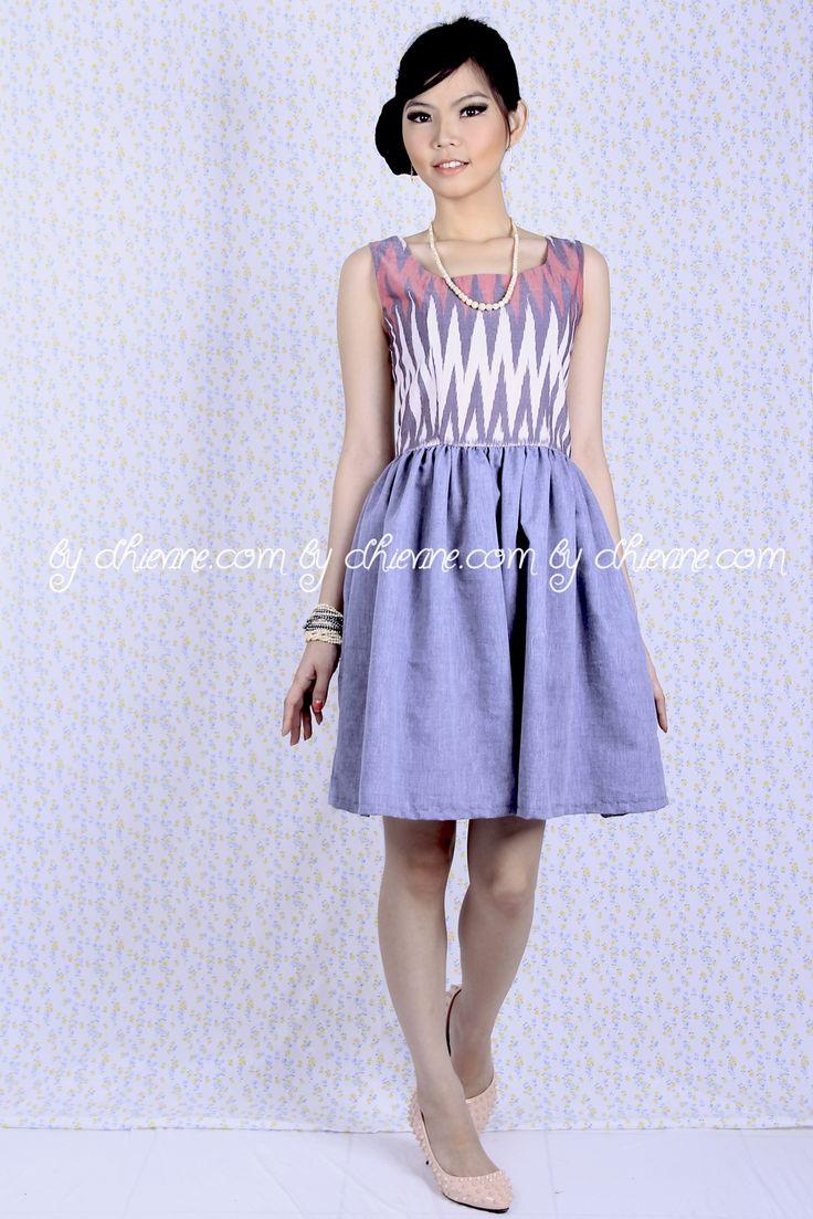 Batik Dress   Lace Dress   Dress Kebaya   Ikat Dress  Rang Rang  Peony Pink Dress   DhieVine   Redefine You