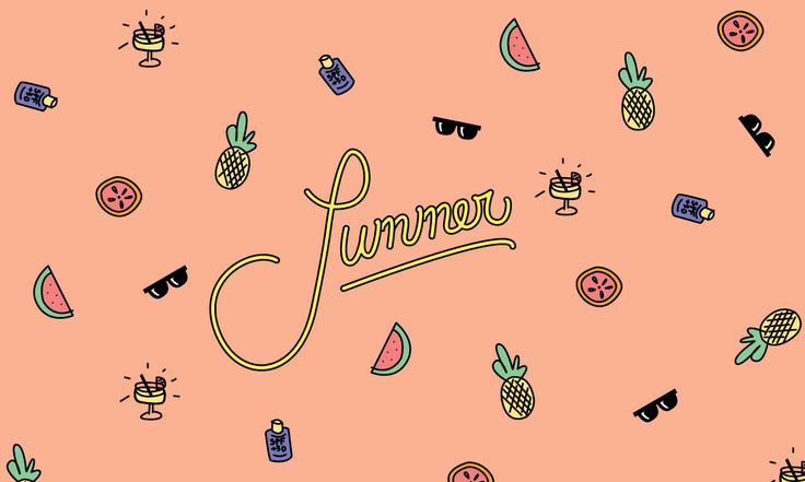 Summer Desktop Design