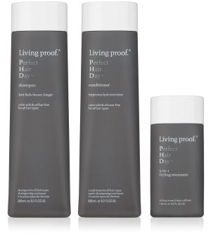 Living Proof Perfect Hair Day - 5-in-1 Styling Treatment. I want this for my damaged hair.