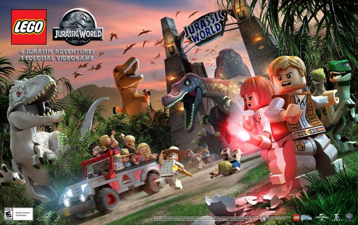 """It's dinosaurs, dinosaurs and more dinosaurs in the new trailer for """"Lego Jurassic World,"""" the video game set to hit shelves June 12. Description from herocomplex.latimes.com. I searched for this on bing.com/images"""