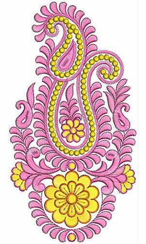 Bow Machine Applique Embroidery Design