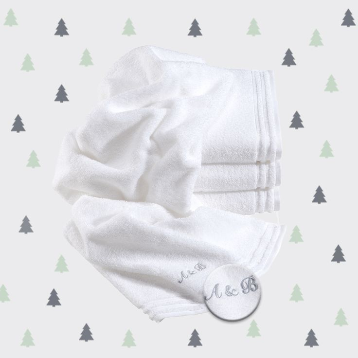 Personalized gifts for XMAS! #vossentowels #towels #monogramming #gift #giftidea #cute #xmas