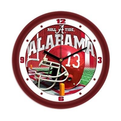 Football Helmet Wall Clock