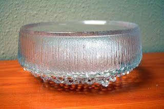 Iittala glass. Ultima Thule Line