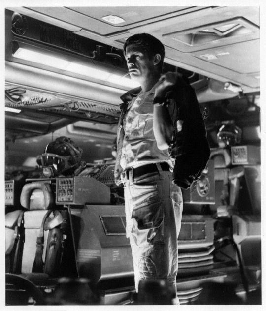 """John Hurt in Ridley Scott's """"Alien"""""""