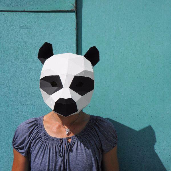 Panda Mask - Wintercroft  - 1