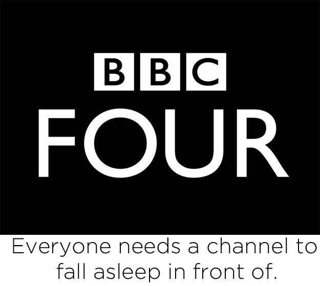 37 Brutally Accurate Slogans For British TV Channels