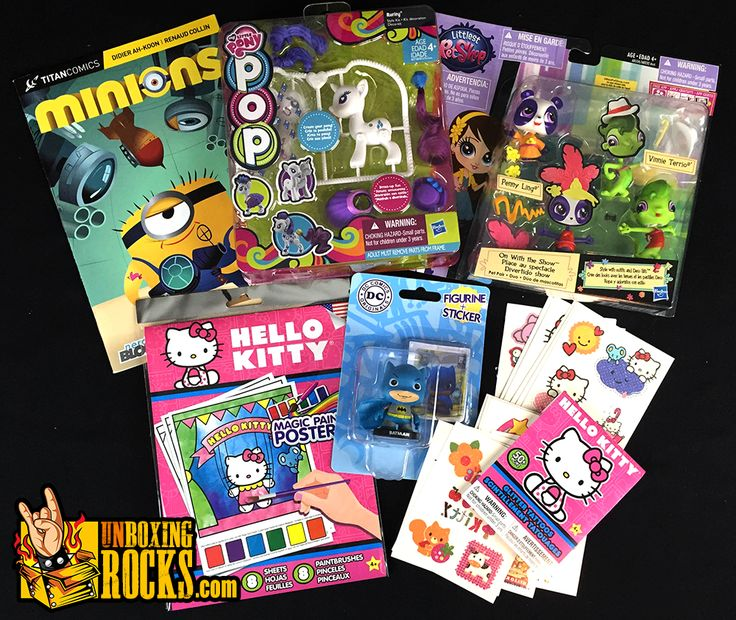 All Items From June 2015 Edition of Nerd Block Jr. For Girls!
