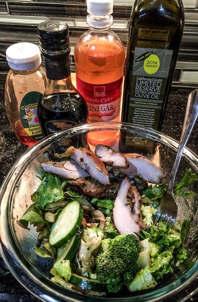 Healthy Four Ingredient Salad Dressing!
