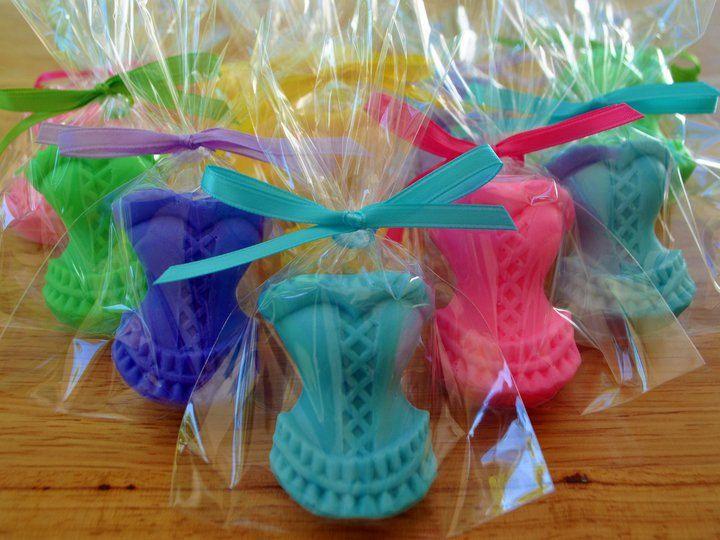 CORSET SOAP FAVORS (10 Favors) - Bridal Shower Favor, Wedding Soap Favor,  Bachelorette Party Favor, Lingerie Favor. $14.50