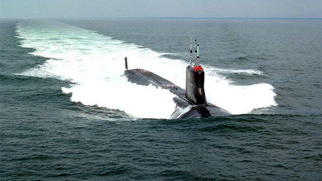 Pregopontocom Tudo: Rússia espanta submarino dos EUA e tensão aumenta ... Internacional Um submarino norte-americano da classe Virgínia foi expulso das águas territoriais russas, segundo autoridades daquele país