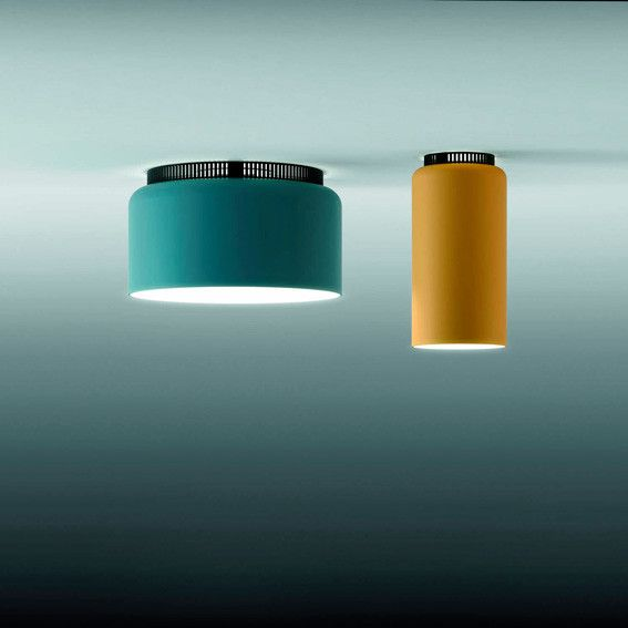 A selection of ceiling luminaires for indoor use