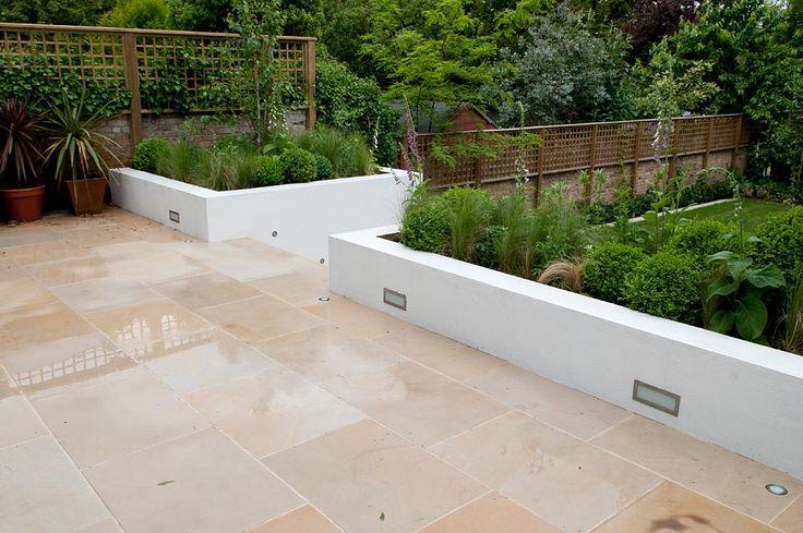 external garden wall render - Google Search