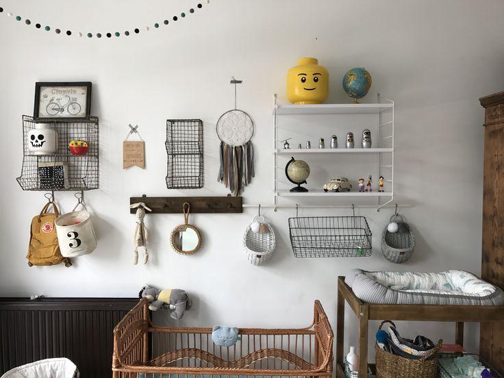 Nursery vintage corner - boysroom