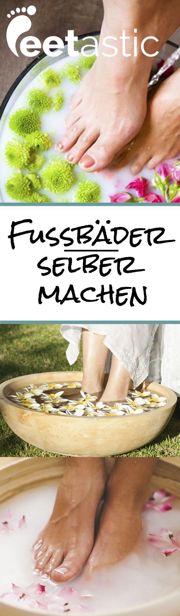 Gegen Stress, müde Füße oder Fußschweiß: Wir verraten Euch die passenden Rezepte! http://www.feetastic.de/wellness/fussbader