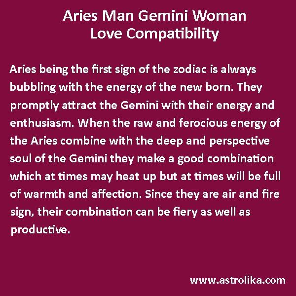 compatible star signs with gemini female