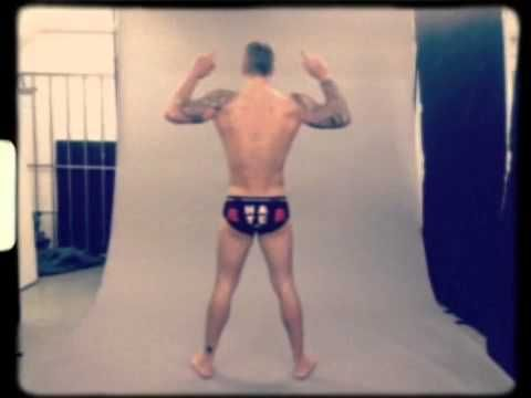 TOWIE Star Dan Osborne Strips off for BangLads Underwear Campaign Backst...